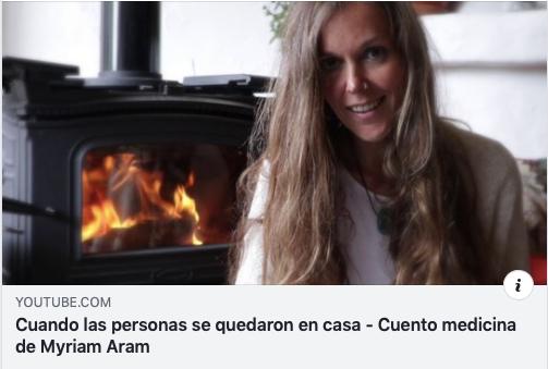 """""""CUANDO LAS PERSONAS SE QUEDARON EN CASA"""" un Cuento Medicina."""