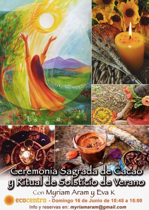 CEREMONIA DE CACAO Y RITUAL DE SOLSTICIO DE VERANO (ÚLTIMAS PLAZAS YA)