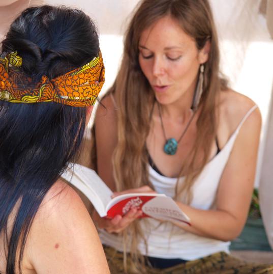Lectura de cuentos y sanación