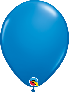 11 Inch Latex Blue Balloon
