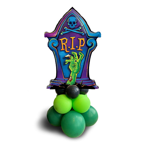 Supershape Foil Balloon - Halloween R.I.P. Tombstone
