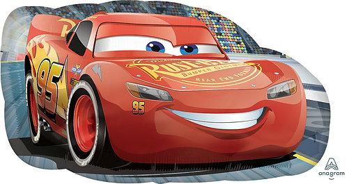 Disney Cars Supershape Foil Balloon - Lightning McQueen