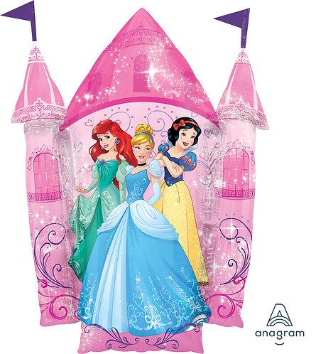 35 Inch Disney Princess Castle Foil Supershape