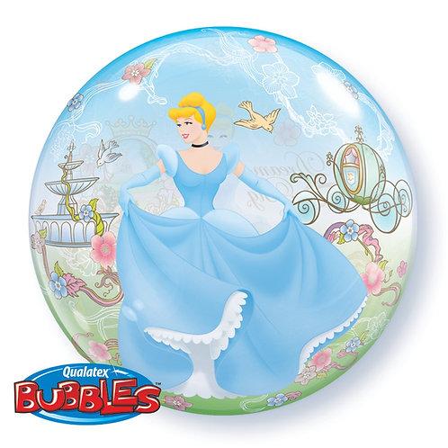 22 Inch Disney Princess Cinderella Bubble Balloon Dream Big