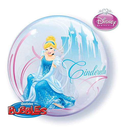 22 Inch Disney Princess Cinderella Bubble Balloon