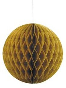 Gold Honeycomb Ball