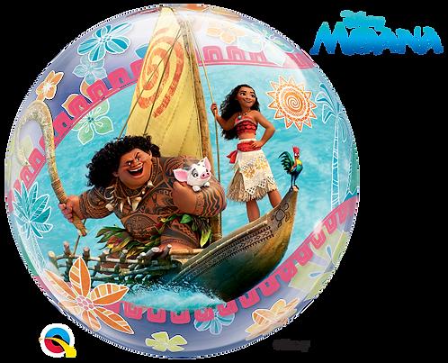 22 Inch Disney Moana Bubble Balloon