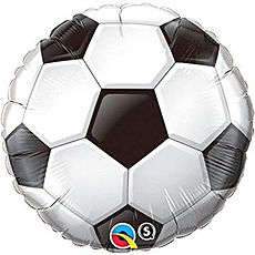 qualatex football foil balloon