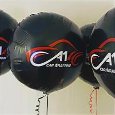 Personalised Plain Foil Balloons