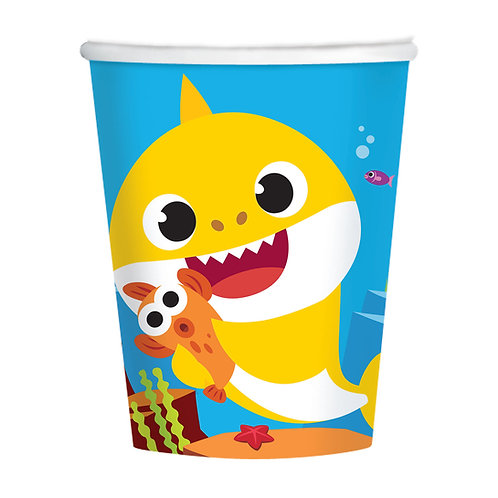 Baby Shark Paper Cups (Pack of 8)