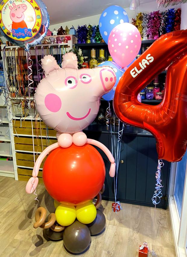 Peppa pig large character balloons super