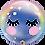 Thumbnail: 22 Inch Eyelashes Unicorn Bubble Balloon