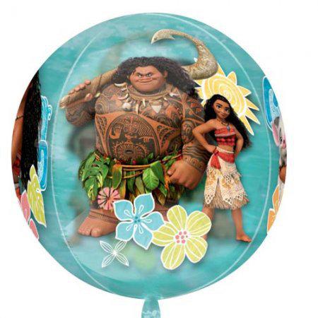 16 Inch Disney Moana Orbz Balloon