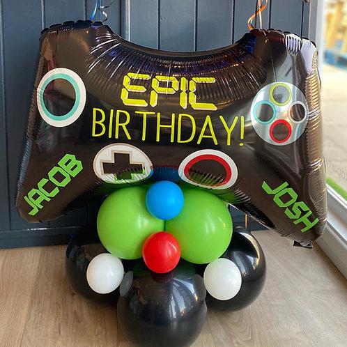Gaming Controller Balloon Display
