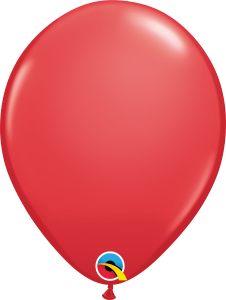 11 Inch Red Latex Balloon
