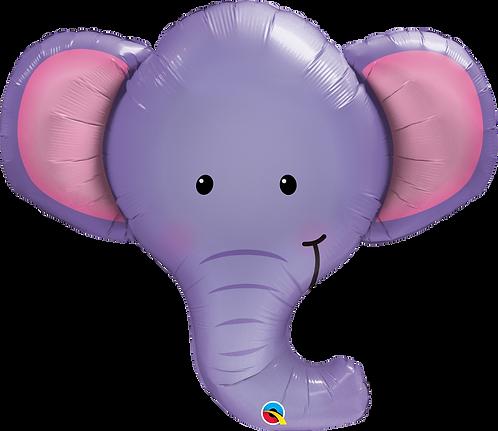 39 Inch Ellie the Elephant Supershape Foil Balloon