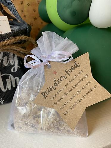 Reindeer Food in Organza Bags