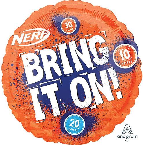 18 Inch Nerf Round Foil Balloon