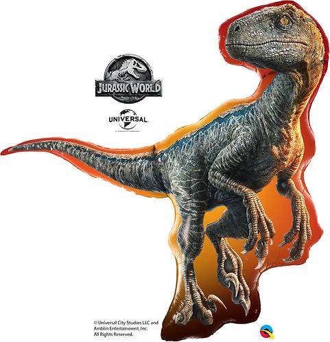 38 Inch Jurassic World Dinosaur T-Rex Supershape Foil Balloon