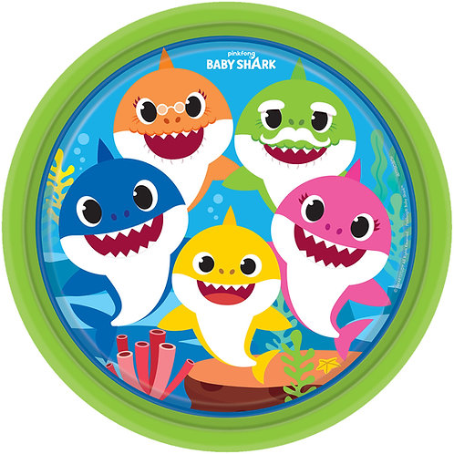 Baby Shark Paper Plates (Pack of 8)