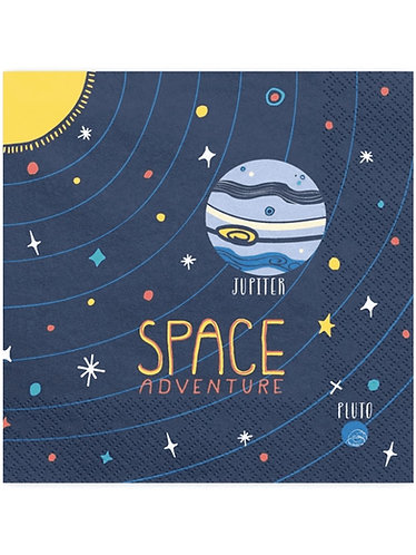 Napkins 20pk - Space Adventure Party