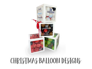XMAS & NEW YEAR - Balloon Designs CATEGO