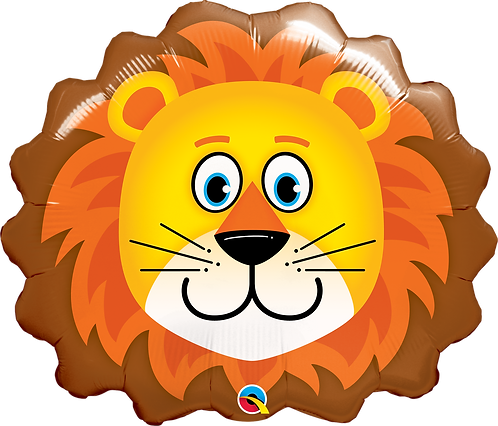 29 Inch Loveable Lion Supershape Foil Balloon