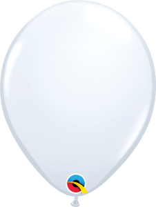 11 Inch White Latex Balloon
