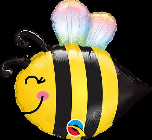 38 Inch Sweet Bee Supershape Foil Balloon