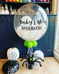 Baby's First Halloween Personalised spid
