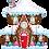 Thumbnail: 37 Inch SuperShape Balloon Christmas Gingerbread House