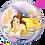 Thumbnail: 22 Inch Disney Princess Belle Bubble Balloon, Beauty and the Beast