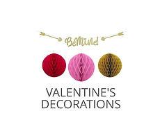 VALENTINES PAGE - Shop Valentines Decora