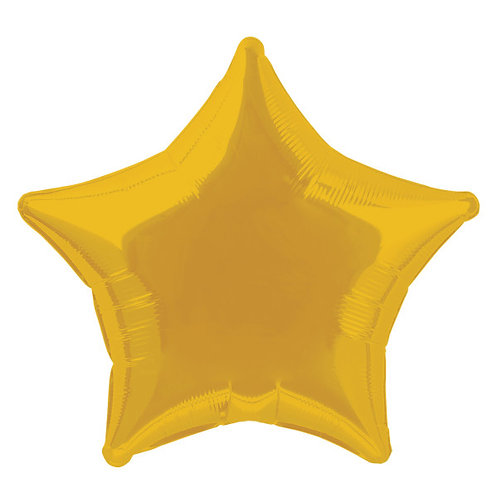 18 Inch Gold Star Foil Balloon