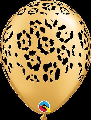 11 Inch Leopard Print Latex Balloons