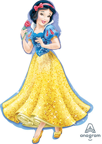 37 Inch Disney Princess Snow White Supershape Foil Balloon