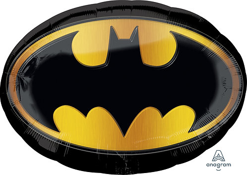 Supershape Foil Balloon Batman Emblem