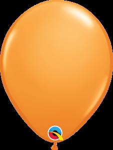 11 Inch Orange Latex Balloon