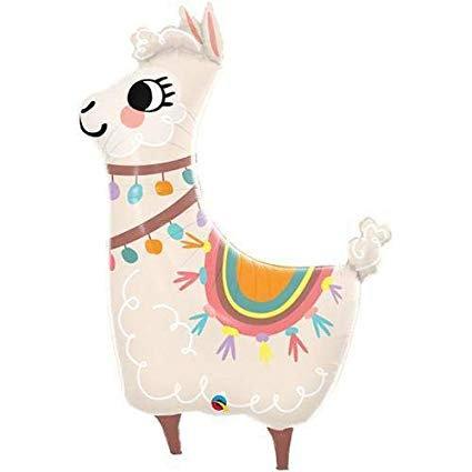 "Foil balloon 45"" Supershape - Llama (Llama shaped)"