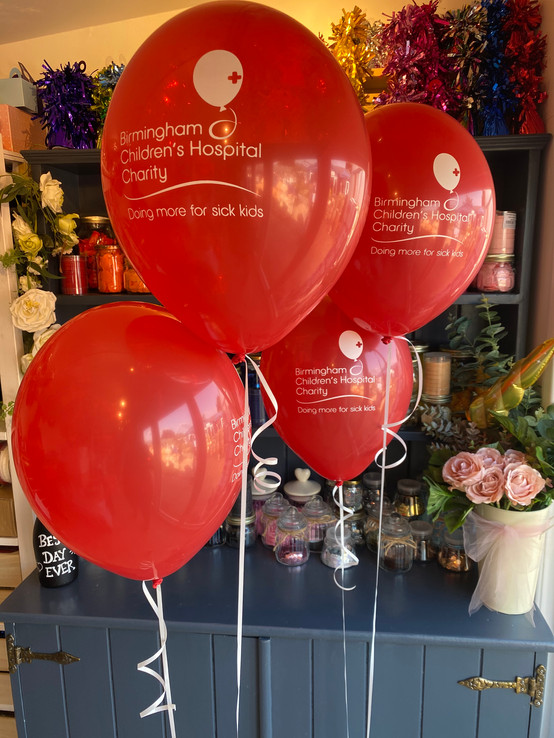 Branded Charity Balloons
