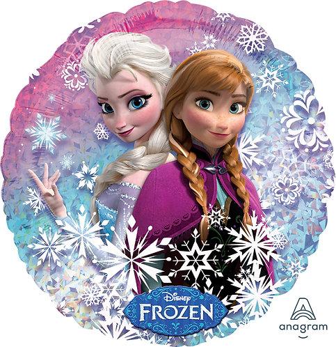 18 Inch Disney Frozen Round Foil Balloon