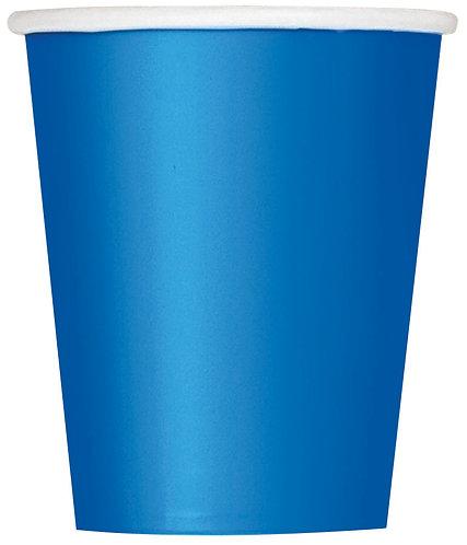 Dark Blue Paper Cups (9oz) 14pk