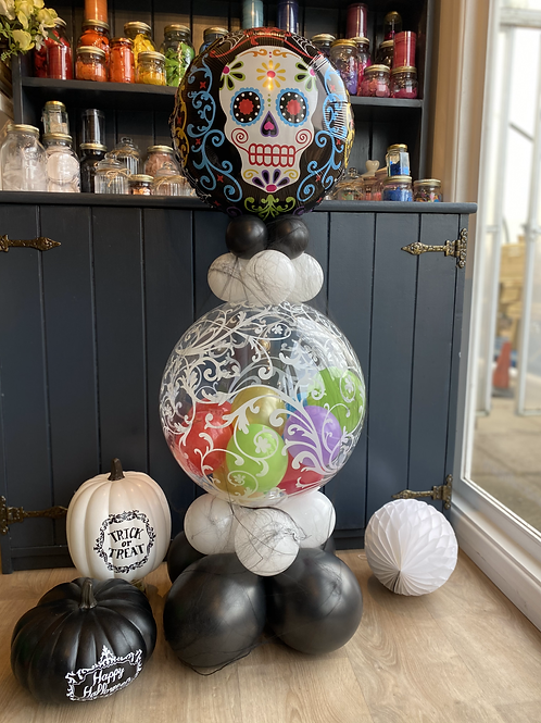Day of the Dead Balloon Design