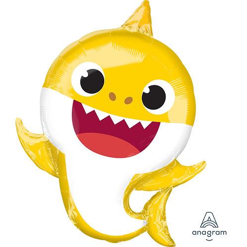 Supershape Baby Shark Foil Balloon