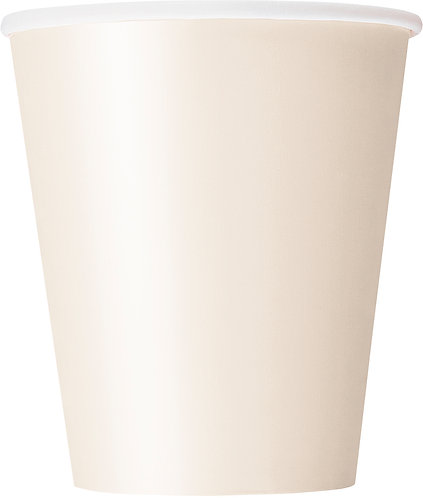 Ivory Paper Cups (9oz) 14pk