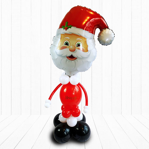 Large Supershape Santa Character Balloon Design for Christmas Eve or Morning