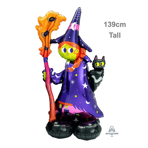 Airloonz Giant Foil Balloon - Scary Witch