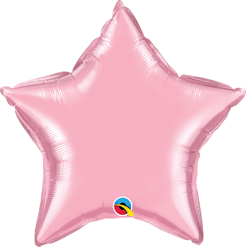 18 Inch Pearl Pink Star Foil Balloon