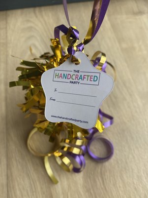 The Handcrafted Party Gift Tags
