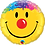 Thumbnail: 18 Inch Emoji Colourful Hair Foil Balloon
